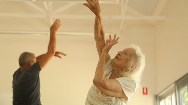 Eileen Kramer, now 101, will perform at the upcoming Arts Health Institute convention Play Up.