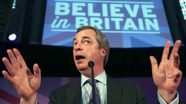 """Nigel Farage: It's wrong to characterise UKIP as a """"narrow, small-minded, nasty group of people""""."""
