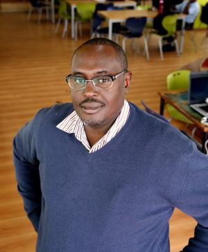 James Kabiru, 40, is the founder of OliveTreeHub.com which provides a range of business services via mobile apps.