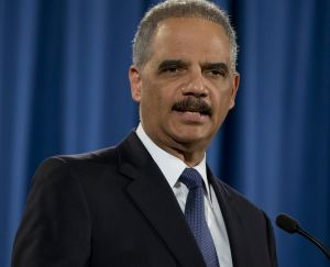 Attorney-General Eric Holder talks about the investigation into the Ferguson police department.