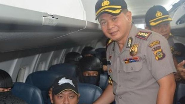 There will be an investigation into who gave this picture to the media, but not into Senior Commissioner Djoko Hari Utomo.