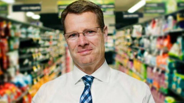 Woolworths CEO Grant O'Brien's departure was announced last year but he has been kept on in the role in an interim ...