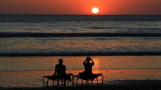 Heating up: 2015 could be another very warm year, climate scientists believe.
