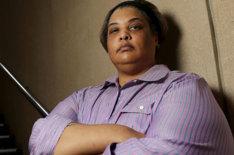 Not happy: Roxane Gay described the Mamamia podcast as a shit show.