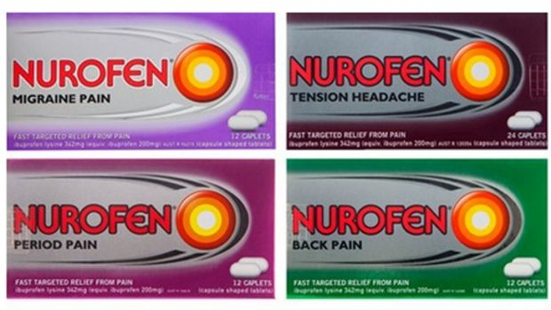 Nurofen has settled a class action on its pain relief products