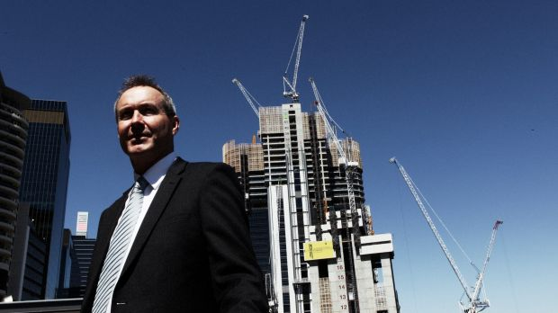 """Lend Lease's Barangaroo South managing director Andrew Wilson said the design was """"elegant and simple""""."""