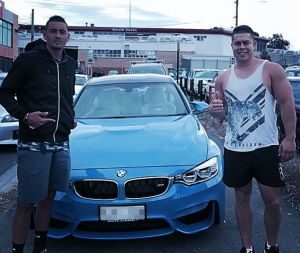 Nick Kyrgios shows off his new car on Instagram.