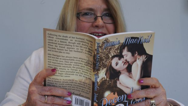 Canberra romance author, Joanie MacNeil, 64, of Dunlop, attending the Australian Romance Readers Convention at the QT.