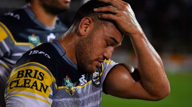 In mourning: Cowboys winger Antonio Winterstein is grieving the death of his younger brother Francis.