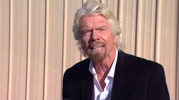 Plea: Billionaire entrepreneur Richard Branson .