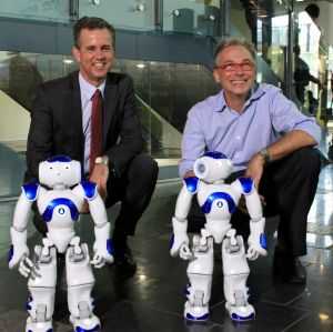 Professor Gordon Wyeth, Executive Dean of the science and engineering faculty at Queensland University of Technology and ...