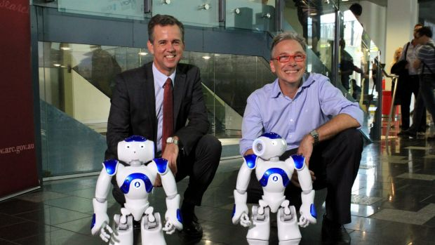 Professor Gordon Wyeth, Executive Dean of the science and engineering faculty at Queensland University of Technology  ...