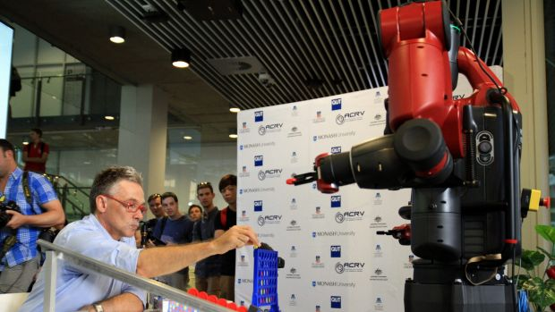 Professor Peter Corke, world-renowned roboticist with QUT's Science and Engineering Faculty and Director of the ...