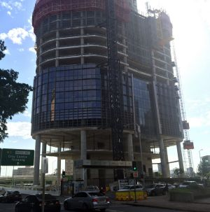 The 1 William Street building, planned by the LNP and currently under construction, will go ahead, says Premier ...
