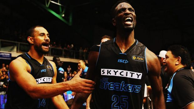 Sweet as: The NZ Breakers are the current National Basketball League champions.