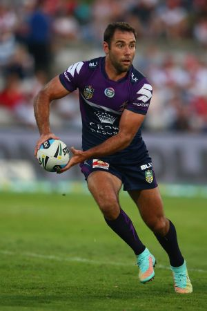 All class: Cameron Smith was outstanding for Melbourne despite his lack of pre-season game time.