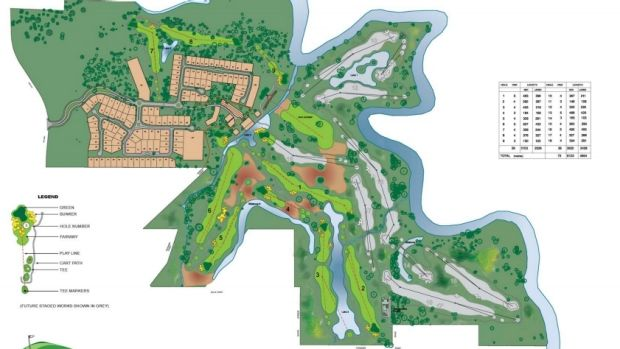Cannon Links Golf Course plans.