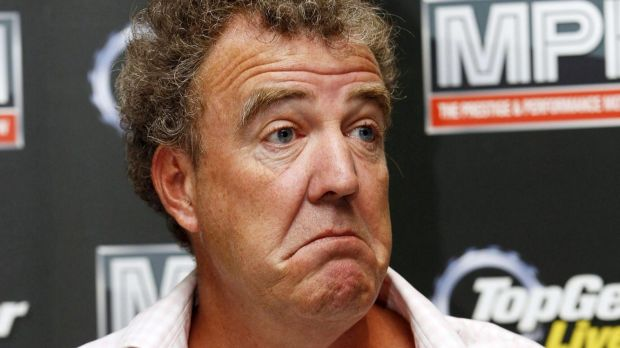 Grief: Jeremy Clarkson has criticised the BBC over the way they treated him when his mother died.
