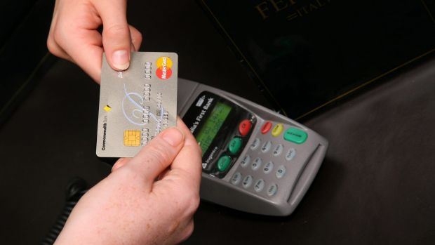 No card: Commonwealth Bank says 60,000 tap-and-pay transactions are taking place in Australia each week using ...