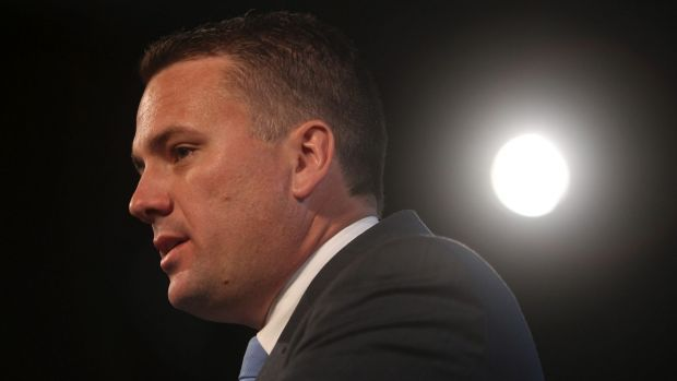 Assistant Infrastructure Minister Jamie Briggs has weighed in on the light rail debate on the side of the Labor government.