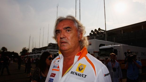 Flavio Briatore attempted to quash worries about Alonso's health, but appeared to point the finger of blame at McLaren ...
