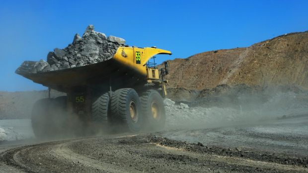 A man has been killed at a central Queensland coal mine.