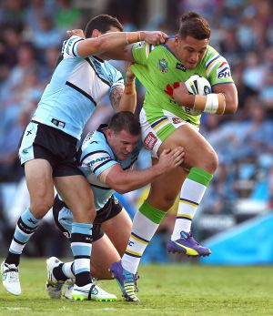 Josh Papalii could make the move to the prop permanent.