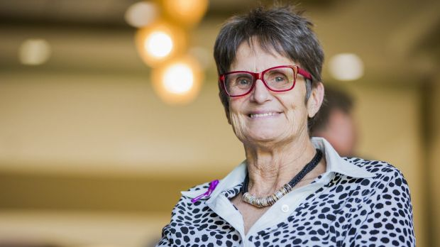 New Canberra Citizen of the Year Sue Salthouse said she was 'astonished' to receive the award.
