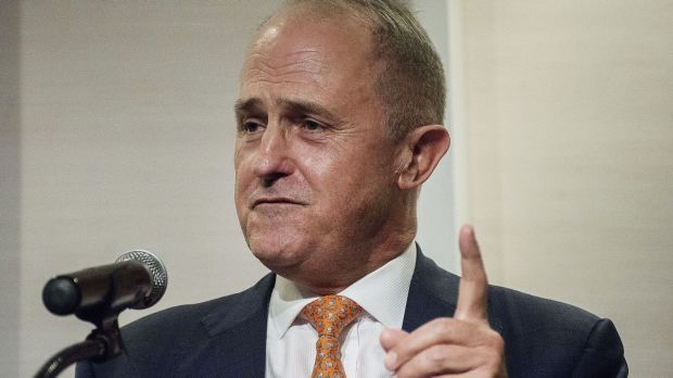 More of an imperative than a wink and a nod: Malcolm Turnbull backs journalists protecting their sources.