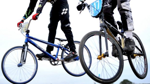 Police say the bicycles were similar in design to a BMX.