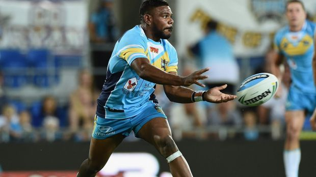 Happy with sea change: Kierran Moseley is pleased with his switch to the Titans.