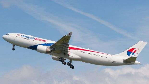 A Malaysia Airlines A330-300.