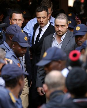 Oscar Pistorius is currently serving a five year prison sentence after being convicted of culpable homicide.