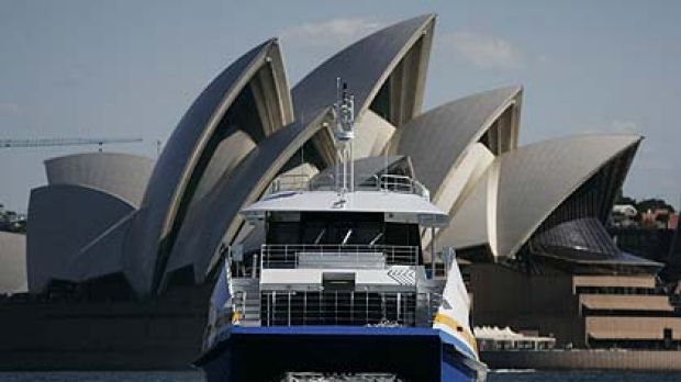 Patronage on Sydney Fast Ferries has increased.
