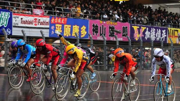 Cleaning up ... Keirin racing is one four sports on which gambling is permitted in Japan, and subject to stringent ...