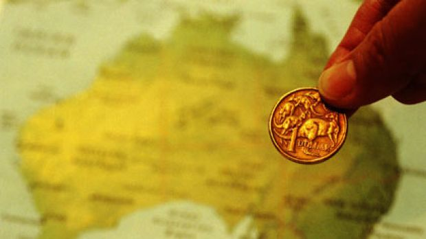 The Aussie dollar has climbed back above parity with the greenback.