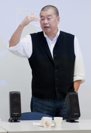 NMA founder Jimmy Lai.