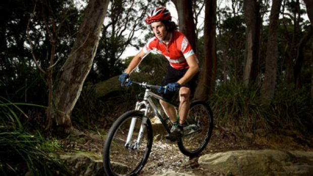 On the right track ... Chris Southwood, who admits using illegal trails in the past, says he would like to be able to go ...
