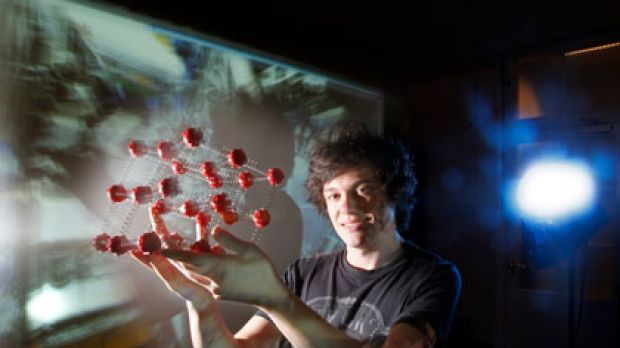Big bang theory ... Sydney student Mark Scarcella is heading to Switzerland today to work in one of the control rooms of ...