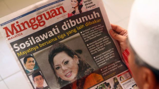 Mourned ... Ms Sosilawati's death has shocked the nation.