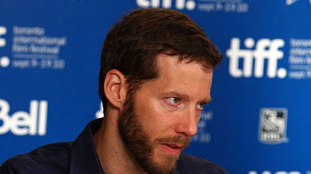 Amazing tale ... Aron Ralston at the Toronto International Film Festival.