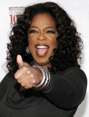 Oprah Winfrey: a star with the magic touch.