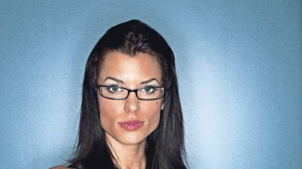 Ageing ... study finds glasses add at least three years to a face.