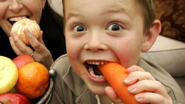 What's good for the goose ... with planning, vegetarianism is a healthy option for kids.