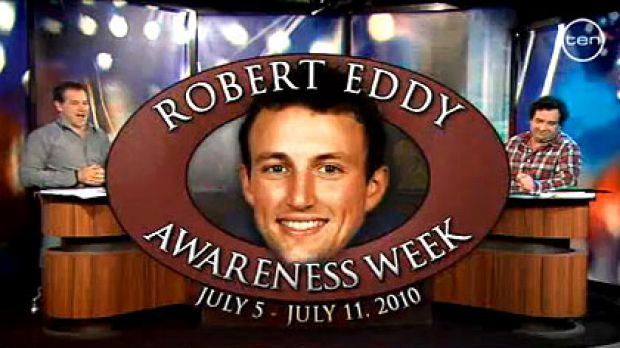<i>Before The Game</i> tried to get Robert Eddy's name up in lights.