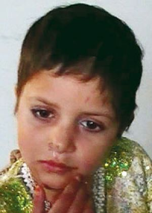 Five-year-old Shuri Noor was injured in the attack.