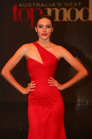 Amanda Ware who was crowned Australia's Next Top Model after the wrong winner was announced on live television.