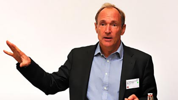British computer scientist Tim Berners-Lee, who is credited with inventing the World Wide Web.