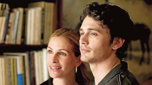 Lost and found ... Julia Roberts in Eat Pray Love.