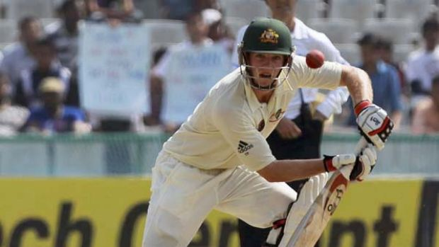 Tim Paine began cautiously, then widened his repertoire in the first Test against India.